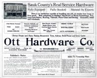 Index, Sauk County 1921